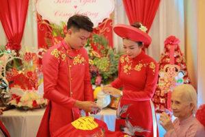 Vận động tổ chức tiệc cưới trong phạm vi gia đình nhằm chống dịch Covid-19