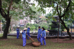 Phát động Đợt cao điểm về vệ sinh môi trường trên địa bàn Hà Nội