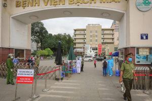 Hà Nội có công điện khẩn số 2 về ngăn chặn lây lan dịch bệnh Covid 19 tại Bệnh viện Bạch Mai ra cộng đồng