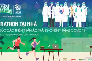 """VPBank Hanoi Marathon ASEAN 2020 tiếp sức các Thiên thần Áo trắng Chiến thắng Covid-19"""""""