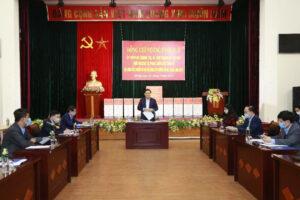Bí thư Thành ủy Hà Nội Vương Đình Huệ cảm ơn cán bộ và nhân dân chấp hành nghiêm yêu cầu chống dịch COVID -19