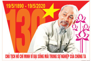 Kỷ niệm 130 năm Ngày sinh Chủ tịch Hồ Chí Minh (19/5/1890 – 19/5/2020): Nguyện mãi học tập và làm theo Bác kính yêu