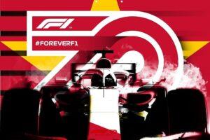 Cờ Việt Nam xuất hiện trên poster kỷ niệm 70 năm giải F1