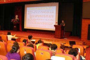 Long Biên tập huấn nghiệp vụ về chăm sóc và bảo vệ trẻ em