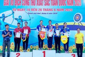 Hà Nội lập một kỷ lục mới và dẫn đầu giải Vô địch Cung thủ xuất sắc toàn quốc 2020