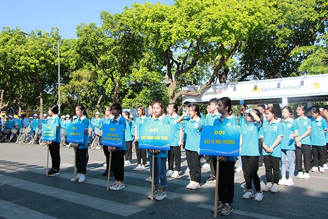 Hà Nội ra quân đẩy mạnh tuyên truyền xây dựng người Hà Nội thanh lịch văn minh
