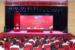 Thành công của Đại hội các chi bộ góp phần quan trọng vào thành công chung của Đại hội Đảng bộ Sở VHTT Hà Nội