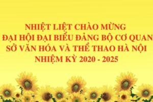 Đảng bộ Sở Văn hóa và Thể thao Hà Nội: Sẵn sàng cho một kỳ Đại hội thành công