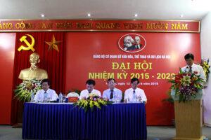 Xây dựng Đảng bộ trong sạch vững mạnh, phát huy tinh thần đoàn kết, dân chủ, đổi mới, sáng tạo trong sự nghiệp Văn hóa -Thể thao Thủ đô