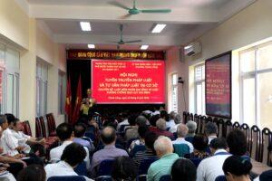 Hội nghị Tuyên truyền pháp luật về chủ đề gia đình