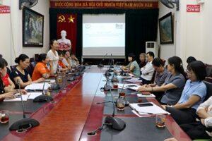 """Thị xã Sơn Tây: Tổng kết dự án """"Bảo vệ phụ nữ và trẻ em gái khỏi các hình thức bạo lực tình dục"""""""