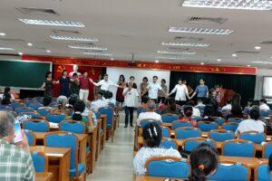 Long Biên tổ chức Lớp tập huấn kỹ năng dàn dựng, biên đạo chương trình văn nghệ quần chúng
