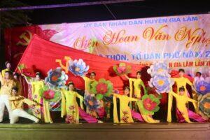 Liên hoan văn nghệ các CLB thôn, Tổ dân phố năm 2020 cụm Nam Đuống, huyện Gia Lâm
