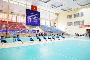 250 VĐV tham gia Hội thao công nhân viên chức lao động quận Hà Đông năm 2020