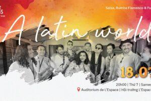 Sôi động đêm nhạc Latin tại Hà Nội