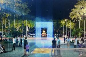 Công bố kết quả cuộc thi Thiết kế cột mốc Km0 tại hồ Hoàn Kiếm