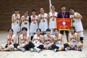 Giải Bóng rổ hè TP Hà Nội 2020: nam Thanh Trì, nữ Hai Bà Trưng giành HCV nội dung U18