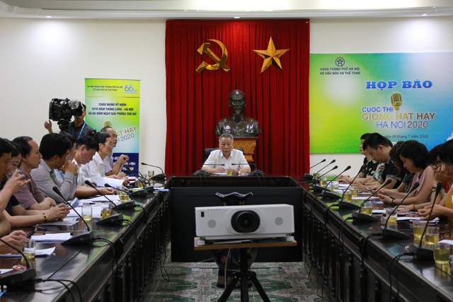 """Khởi động cuộc thi """"Giọng hát hay Hà Nội 2020"""""""