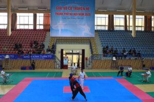 Hơn 200 VĐV tranh tài tại giải Võ Cổ truyền hè TP Hà Nội 2020