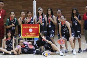 Nam Cầu Giấy và nữ Long Biên vô địch nội dung U15 giải Bóng rổ hè TP Hà Nội