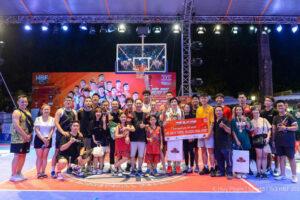 Thang Long Warriors và Fudo vô địch giải Bóng rổ phong trào 3×3 HBF 2020
