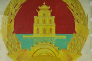 Triển lãm bản gốc những phác thảo mẫu vẽ Quốc huy Việt Nam