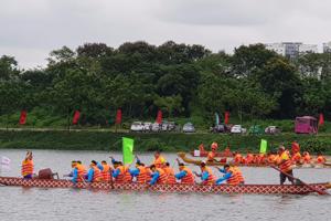 Hội bơi chải truyền thống làng Yên Duyên