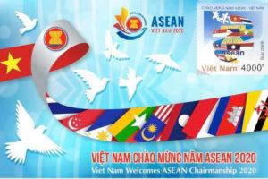 Phát hành bộ tem 'Việt Nam chào mừng năm ASEAN 2020'