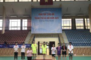 Thanh Xuân giành 14 Huy chương tại Giải thi đấu các môn thể thao hè thành phố năm 2020