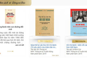 Hơn 1.000 xuất bản phẩm được giới thiệu tại triển lãm sách trực tuyến chào mừng Quốc khánh