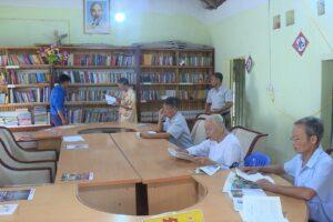 Lan tỏa phong trào đọc sách ở thôn Đông Dương
