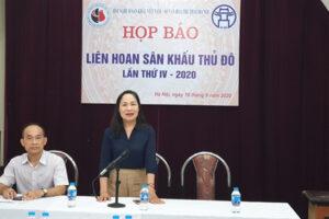 Kịch Hà Nội biểu diễn khai màn Liên hoan Sân khấu Thủ đô lần thứ IV-2020