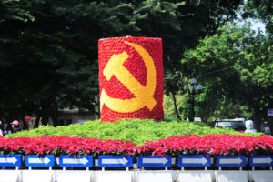 Tập trung trang trí, tuyên truyền phục vụ Đại hội đại biểu lần thứ XVII Đảng bộ thành phố Hà Nội