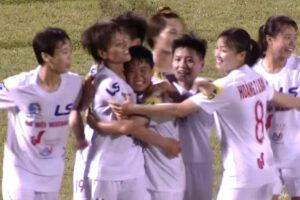 Vòng 2 giải bóng đá nữ VĐQG 2020: Hà Nội 1 Watabe tiếp tục giành chiến thắng