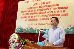 Hà Nội tập trung tổ chức thành công Đại hội Đảng bộ Thành phố lần thứ XVII
