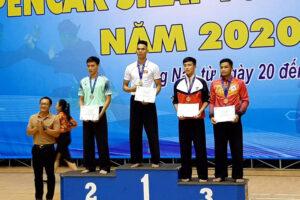Hà Nội xếp nhất toàn đoàn tại giải vô địch Pencak Silat toàn quốc 2020