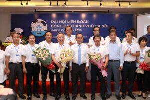 Giám đốc Sở Văn hóa và Thể thao Tô Văn Động được bầu làm Chủ tịch Liên đoàn bóng đá Hà Nội