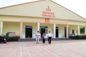 Hỗ trợ đầu tư xây dựng nhà văn hóa hoặc địa điểm sinh hoạt cộng đồng tại các thôn, làng