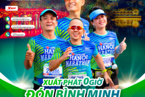 VPBank Hanoi Marathon ASEAN 2020 xuất phát lúc nửa đêm