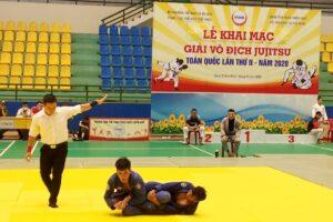 Hà Nội giành ngôi nhất toàn đoàn tại giải vô địch Jujitsu toàn quốc 2020