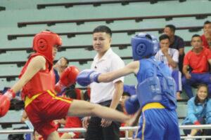 Hà Nội tạm dẫn đầu giải Vô địch Wushu các đội mạnh quốc gia năm 2020