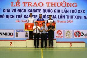 Hà Nội xếp nhất toàn đoàn giải Trẻ Karate Quốc gia năm 2020