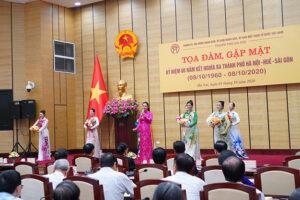 Tọa đàm, gặp mặt kỷ niệm 60 năm kết nghĩa ba thành phố Hà Nội – Huế – Sài Gòn