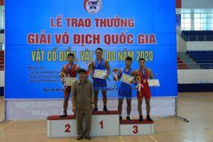 Giải vô địch quốc gia vật cổ điển, vật tự do năm 2020: Hà Nội tiếp tục khẳng định sức mạnh