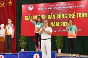 Hà Nội giành 8 HCV, lập 3 kỷ lục tại giải vô địch Bắn súng trẻ quốc gia 2020
