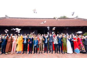 Lan tỏa thông điệp về hòa bình cho Hà Nội, Việt Nam và thế giới