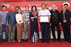 Trao Giải thưởng Bùi Xuân Phái – Vì tình yêu Hà Nội lần thứ 13