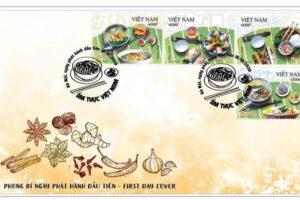 """Phát hành bộ tem """"Ẩm thực Việt Nam"""" nhân kỷ niệm 1010 năm Thăng Long – Hà Nội"""