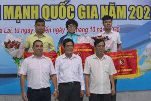 Hà Nội dẫn đầu giải Vô địch Wushu các đội mạnh quốc gia năm 2020