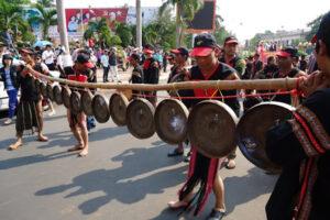 Trưng bày, quảng bá sản phẩm OCOP gắn với văn hóa các tỉnh miền Trung và Tây Nguyên tại Hà Nội
